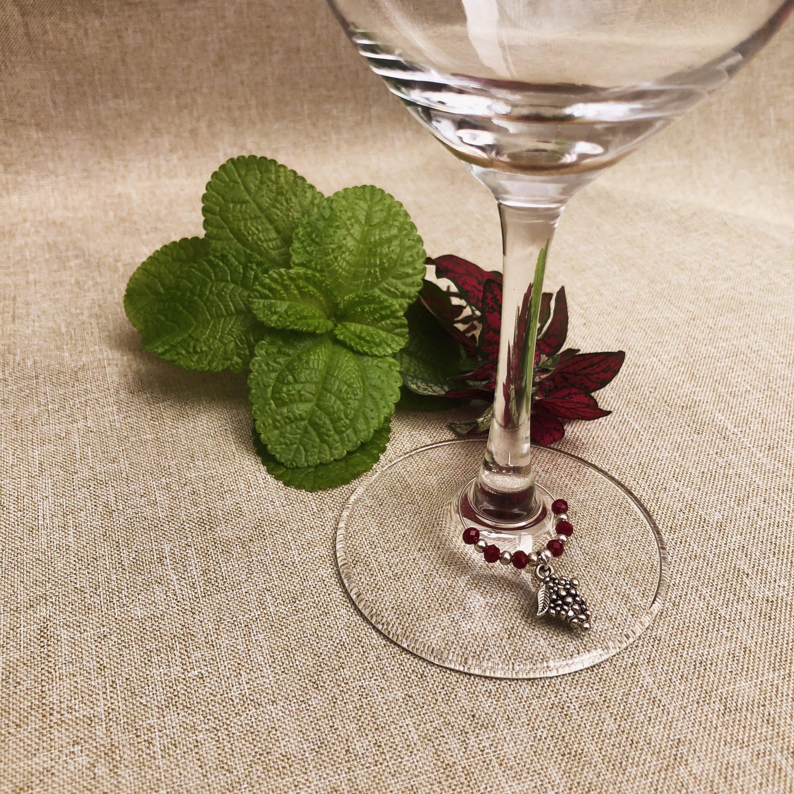 Marcador de uva en copa